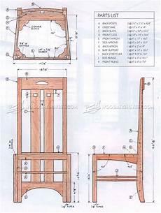 Designer Furniture Plans Mackintosh Chair Plans Woodarchivist