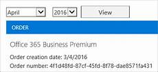 Office 365 Invoice View Your Bill Or Invoice Office 365