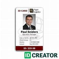 Make Id Badges Online Free Employee Card Format In Word 100 Employee Card Template