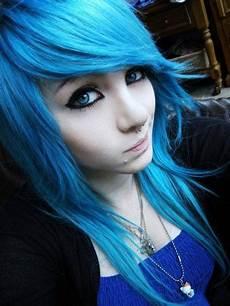 hair blue all their new stuff blue hair don t care