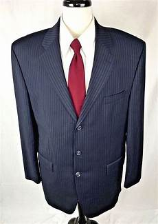izod sport coats izod blazer mens 44 blue wool single vent sport