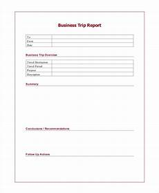 Business Trip Report Template Word Free 11 Trip Report Examples In Google Doc Pdf Apple