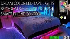 Bedroom Smart Lighting Smart Control Dream Color Led Tape Lights For Bedroom