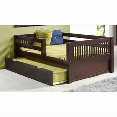day bed with guard rail wayfair