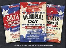 Memorial Day Flyer July 4th Amp Memorial Day Flyers Flyer Templates
