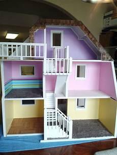 Design A Dolls House 3 Story Custom Made Wood Barbie Doll House Wooden Dream