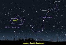Sky And Telescope Sky Chart Nova Nova Sagittarii 2015 No 2 Erupts In Sagittarius