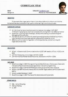 Latest Cv Format In Word File Cv Format In Word File Sample Template Ofbeautiful