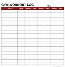 Exercise Log Excel Workout Log Book Sheet Excel Example Spreadsheet