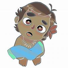 baby moana drawing free on clipartmag