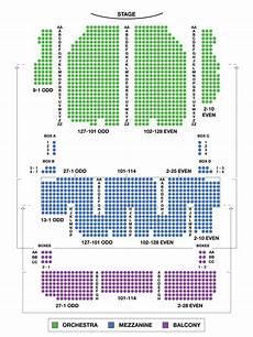 United Palace Theater Seating Chart Palace Theatre Large Broadway Seating Charts