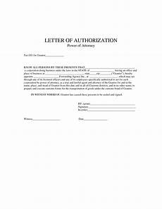 Power Of Attorney Letter Sample Authorization 2 Free Power Of Authorization Letter Sample Amp Examples
