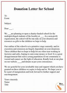 Sample Letter Of Donation 13 Free Donation Letter Template Format Sample Amp Example