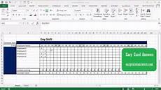 Schedule Excel Spreadsheet Excel Spreadsheet Schedule Template Pertaining To Employee