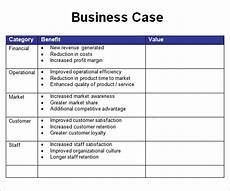 Free Business Case Template Business Case Template 7 Free Pdf Doc Download