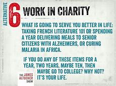 Alternatives To College Work In Charity