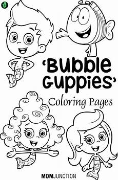 Coloring Pages Bubbles Bubble Guppies Coloring Pages 25 Free Printable Sheets