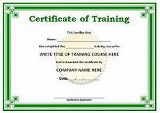 Sample Computer Certificate Training Certificate Template Certificate In 2019
