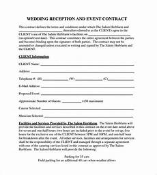 Event Planner Contract Templates Free 25 Event Contract Templates In Pdf Ms Word