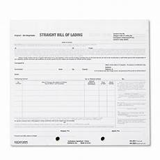 Master Bill Of Lading Form Bill Of Lading Short Form By Rediform 174 Red44302