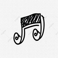 Music Note Logo Note Music Logo Icon Hand Drawing Treble Play Freehand