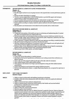 Resume For Medical Assistant Job Medical Assistant Resume Examples Skills Mryn Ism