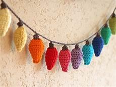 Crochet Christmas Lights How To Crochet Christmas Light Decorations