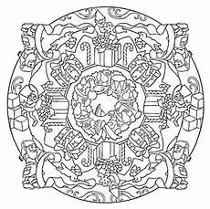 Mandala Malvorlagen Novel Mandala 617 Designs 3d Coloring Book Dover