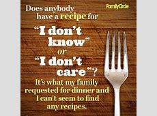 Whats For Dinner Quotes. QuotesGram