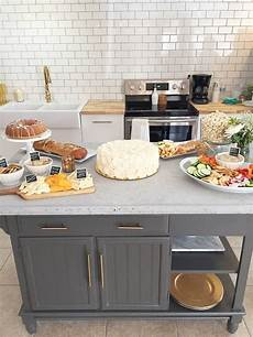 kitchen island cheap a modern diy kitchen island makeover on a budget fresh