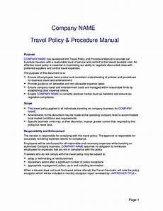 Business Policy Example Free 22 Travel Policy Examples In Pdf Google Docs