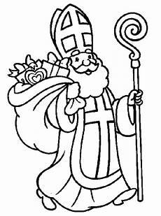 Ausmalbild Bischof Nikolaus Ausmalbilder Nikolaus Ausmalbilder Nikolaus Malvorlagen