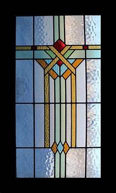 Art Deco Stained Glass Window Designs Fabulous Large Art Deco Stained Glass Window Ebay