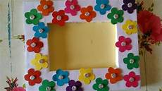 fabric crafts frames how to make beautiful photo frame simple photo frame