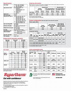 Hypertherm 85 Cut Chart Hypertherm Powermax 85 By Rapid Welding Amp Industrial