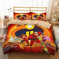 3d customize incredibles 2 bedding set duvet cover set