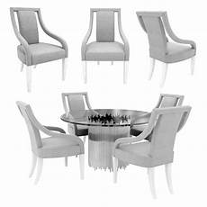 Arm Rest Table For Sofa 3d Image by Bernhardt Calista Arm Chair And Dining Table 3d