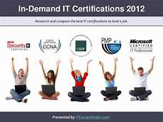 Best Certifications To Get It Certifications In Demand For 2012 Best Certs To Get A Job