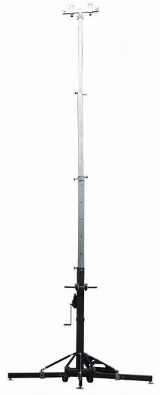 Lighting Truss Lift 200kg 500kg Manual Aluminum Lighting Truss Lift Tower 6m