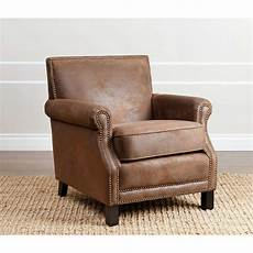 decorative accent chairs abbyson living antique brown fabric club chair