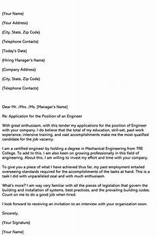 Engineer Cover Letters Best Engineering Cover Letter Samples Amp Email Examples