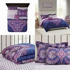 home essence camryn medallion printed comforter set