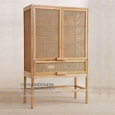 rattan cabinet wine mui furniture