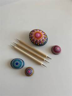 Dotpainting Werkzeug by Set 3 X Wooden Dotting Tool Dot Mandala Dot Tool