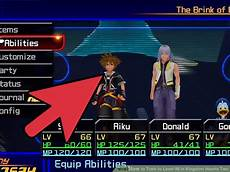 Kingdom Hearts 2 5 Sora Level Up Chart How To Train To Level 99 In Kingdom Hearts Two With Pictures