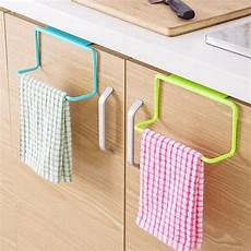 metal door tea towel rack bar hanging holder rail