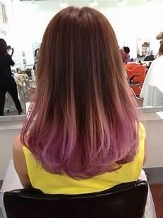 Dark Brown Hair Dip Dyed Light Brown 10 Fantastic Dip Dye Hair Ideas 2020