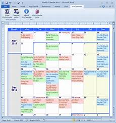 Make Your Own Weekly Calendar Calendar Maker Amp Calendar Creator For Word And Excel