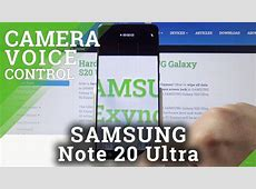 How to Use Camera Voice Control in SAMSUNG Galaxy S20