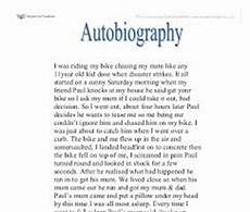 College Autobiographical Essay Example Autobiographical Statement For Graduate School Samples